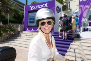 Julie's famous scooter-cam at Cannes Lions