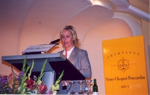 Delivering speech in Munich for Leo Burnett Worldwide